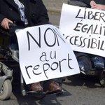 Handicap : les députés votent le report de la mise en accessibilité des lieux publics http://t.co/RWGBNlITDE http://t.co/HXf0LYP5tQ