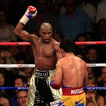 Mayweather stripped of the welterweight world title he won after beating Pacquiao >> http://t.co/6GcYGgUGPb #SSBoxing http://t.co/R1fPVhnI4o
