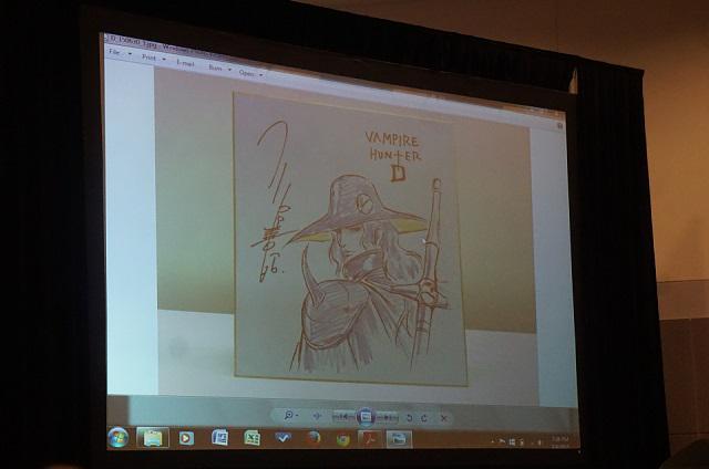 「吸血鬼ハンターD」日米共同製作でフルCGアニメに デジタルフロンティア、米国で発表 http://t.co/HuvQKXrwVD http://t.co/Hpq0fcLSj6
