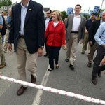 Hillary wants to see how far she get with the media at arms length: http://t.co/IKsETzzOWf http://t.co/ZeOPITppx0