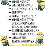 @apnkohyf nyari open agency yg asik?? Silahkan coba disini @.thesimsambition #TimCihuy http://t.co/tQCR4Mqa5e