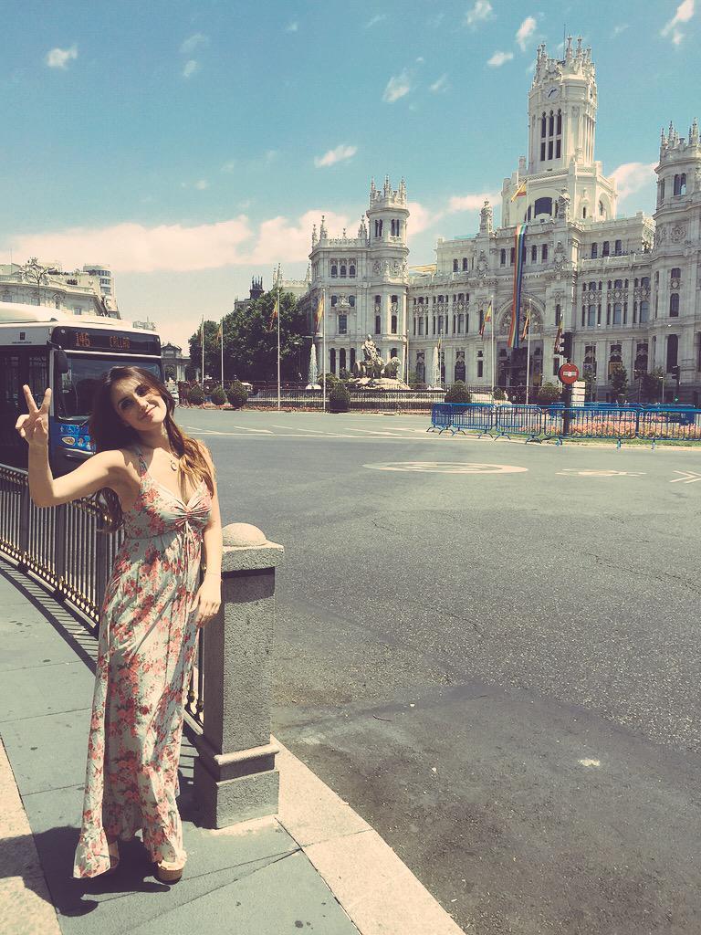 Guerreros!!!! Hoy en #PrimeroNoticias con @OdalysRP y @clarketo mi exclusiva con @DulceMaria desde #Madrid http://t.co/3fuoEr5UOK