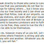 Ken Livingstone on 7/7. Exactly right. The one political speech of my lifetime that has made me cry. http://t.co/NxDYB8CW8O