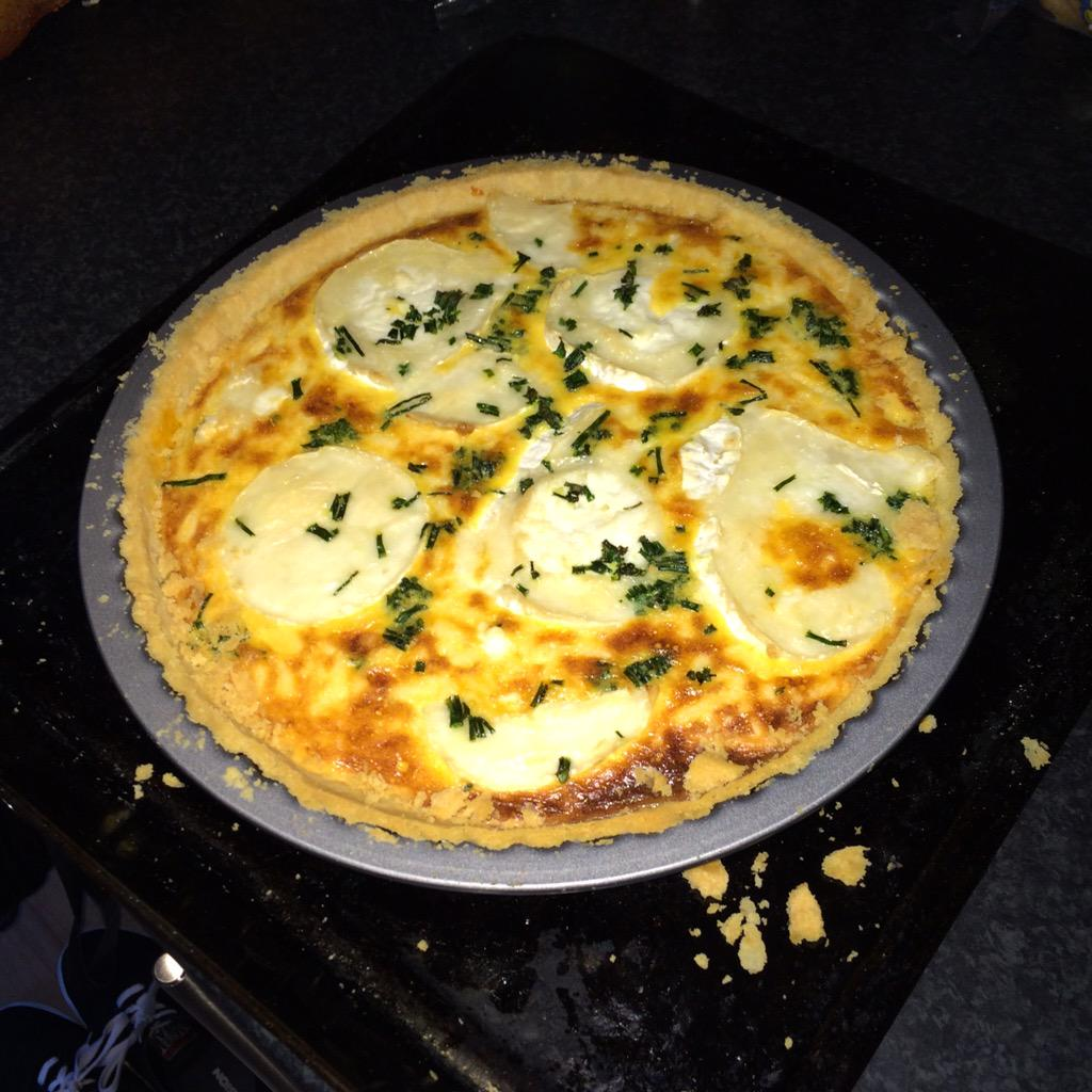 RT @MrAlan_Morrison: Hey @jamieoliver I made your goats cheese and sun-dried tomato tart yesterday - it was pretty flipping mega! http://t.…