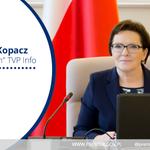 """ZAPOWIEDŹ: dziś o 19.57 premier Ewa #Kopacz będzie gościem programu """"Dziś wieczorem"""" w @tvp_info http://t.co/pPmHBNRzvu"""