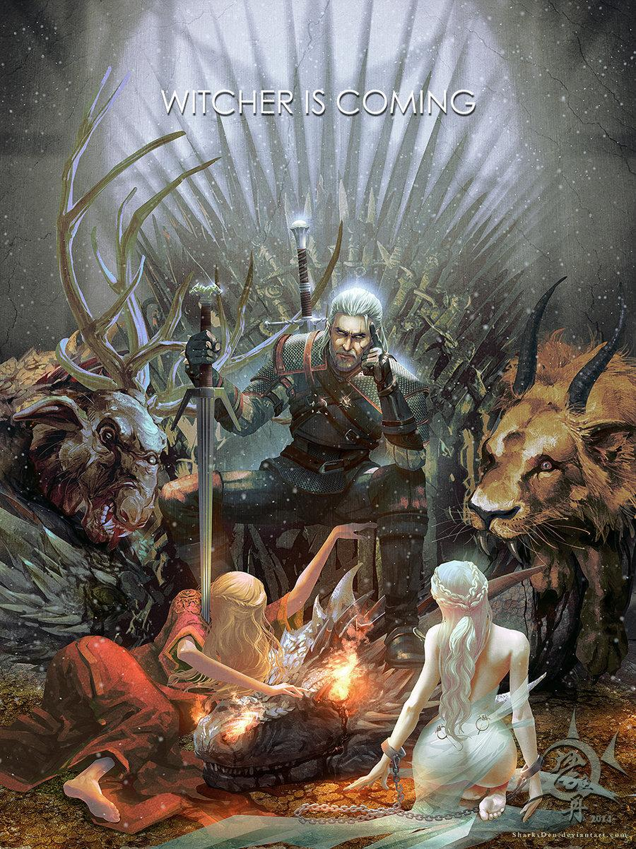 Witcher is Coming par SharksDen http://t.co/RgYv7qOQVK