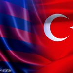 Barça and Turkey <3  http://t.co/MB3OoqF3xn