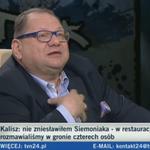 """Kalisz do @TomaszSiemoniak: """"Niech mnie pan nie atakuje, powtórzyłem emocjonalne słowa Noska"""" http://t.co/4ravw7kh8E http://t.co/E6Jlz23IQK"""