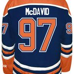 This Saturday: Brand new Connor McDavid #Oilers jersey giveaway! Must be 18+ and following. RT this for entry details http://t.co/nBSrySUQxO