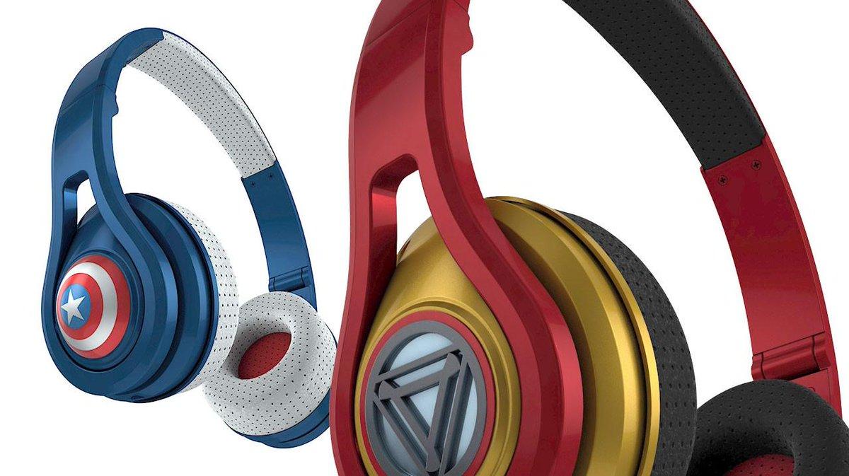 .@bamsmackpow getting amped for our @Marvel headphones. You ready? http://t.co/ktkrHmSGNZ http://t.co/WwchQg83SD