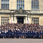 .@BSAboarding thats what we call a school trip! Whole school at Longleat remembering 1939-47 when it WAS our school! http://t.co/jx7iqAyAF4