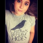 """#ExciteYourPartnerIn4Words """"Game of Thrones Marathon?"""" #CrowsBeforeHoes http://t.co/bAHug9y9Qn"""