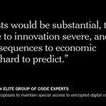 Code experts are taking U.S. and British intelligence and law enforcement agencies to task http://t.co/0tvAw7ODZ4 http://t.co/paotBRIFUH