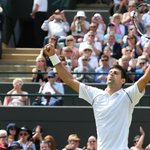 """Djokovic: """"This was one of the most difficult matches Ive played at Wimbledon, maybe in my career"""" #Wimbledon http://t.co/9gYFcnRQ7a"""