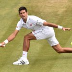 Djokovic advances to his 7th straight Wimbledon quarterfinals and his 25th straight Grand Slam quarterfinal overall. http://t.co/miVZGN5UnD