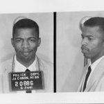 "54 yrs ago today I was released from Parchman after being arrested in Jackson for using ""white"" restroom #goodtrouble http://t.co/G4S9B4JDAJ"