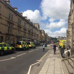Pirrapoint St closed due to an incident at Lewis house bus station RD shut @NOWBath @BathChron http://t.co/gu6MQsNoAl