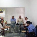 Estamos reunidos con todas las entidades que manejan emprendimiento en Sucre.en apuesta con @AppsCo @ViveLabSucre http://t.co/bVHwu3VDF3