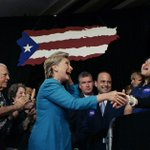 """Hillary: Time to give Puerto Rico """"a fair shot"""" http://t.co/RDlzr6VZgh   AP photo http://t.co/xoYpJ4Iy24"""