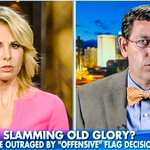 Elisabeth Hasselbeck scolds anti-gay pastor for flying Christian flag above American flag http://t.co/FjH2kkUFVj http://t.co/jy5yzun31i