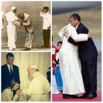 Protocolo? @Pontifex_es Latinoamericano, aqui YA NO hay reyes, SOMOS HERMANOS! #PapaFranciscoEnEcuador @MashiRafael http://t.co/vtHlBh2yFo