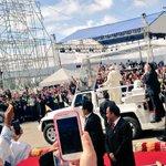 Inicia el recorrido de Papa @Pontifex_es en el Parque Bicentenario de Quito. #FranciscoenEcuador http://t.co/NTiKx0LUCL