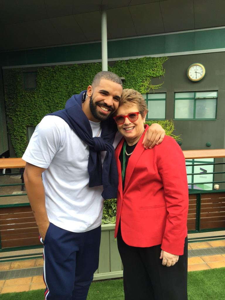 So fun to catch up with @Drake today at #Wimbledon http://t.co/dT7avne99D