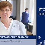 Kandydatka #PiS na premiera @BeataSzydlo dziś o 19:25 w @faktypofaktach. Oglądaj w @tvn24 - http://t.co/1XMEtfH1M6 http://t.co/SbFr7fgjmo