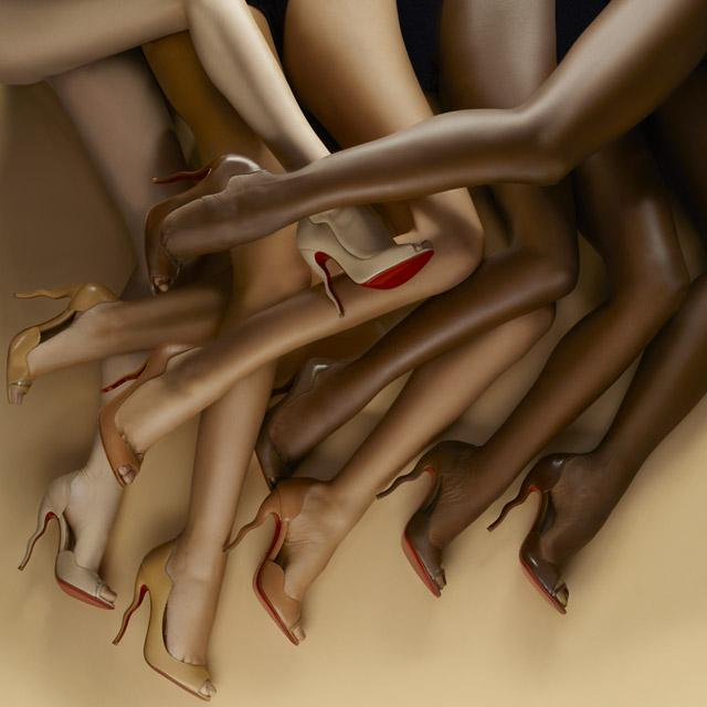 """Nude is not a colour, it's a concept"" - Christian Louboutin #NudesForAll http://t.co/plCQon4bme"