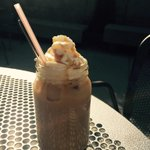 Iced caramel baileys lattes on the best patio in Edmonton! Come see us @CulinaMuttart !#yegfood #yegdt http://t.co/Ht9xS9give