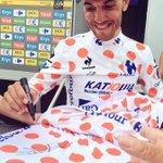 RT pour gagner ce #MaillotaPoisCarrefour signé par @PuritoRodriguez ! #TDF2015 http://t.co/Duyf6kqQFj