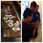 Some local @readingfc fans have been embarking on a frantic signature hunt in the teams hotel lobby this afternoon! http://t.co/apJtHNNibu