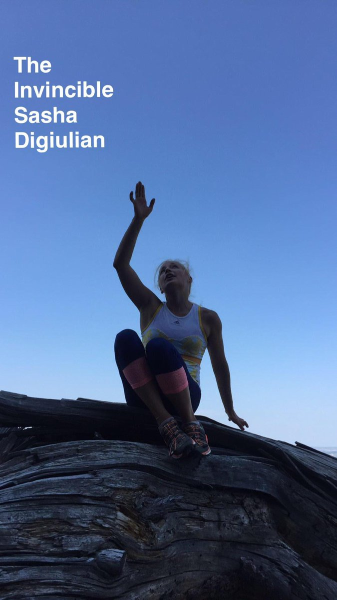 The Invincible @sashadigiulian. #snapchat http://t.co/CPS4D1fSwQ