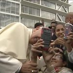 Papal selfie with @Pontifex! In Quito. http://t.co/MrJM5FBmUP