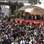 Inicia encuentro de #FranciscoenEcuador en la Pontificia Universidad Católica del Ecuador, en Quito. http://t.co/B1o0YJ3Ke3