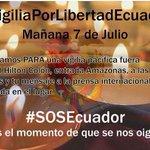 #HOY Vigilia por la #LibertadDePrensa, hotel Hilton Colón de #Quito 9pm #Ecuador http://t.co/H4TMwsvMlC