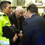 Ingresa expresidente Sixto Durán-Ballen a iglesia San Francisco para encuentro con #papaFrancisco http://t.co/7m4ZMZxYRB vía @groperiodista