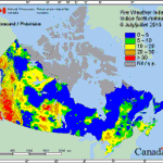 Record-breaking heat in Canada is igniting hundreds of wildfires. http://t.co/sjVaIGDIb6 http://t.co/m0mdqP7f16