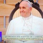 Jóvenes y educadores católicos manifiestan sus peticiones al #papaFrancisco #ElPapaEcuavisaYYo http://t.co/tEWHVI96gs