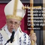 Misa de @Pontifex_es en Quito, un llamado a la unidad y dejar de lado el individualismo. http://t.co/J5vxyRbvwh http://t.co/3aIEPppOmL
