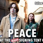 This Sunday meet @peace4everever at the #TITP2015 Scottish Sun Signing Tent! http://t.co/iTGo8Wuv8p http://t.co/rtt3M4Nu2t