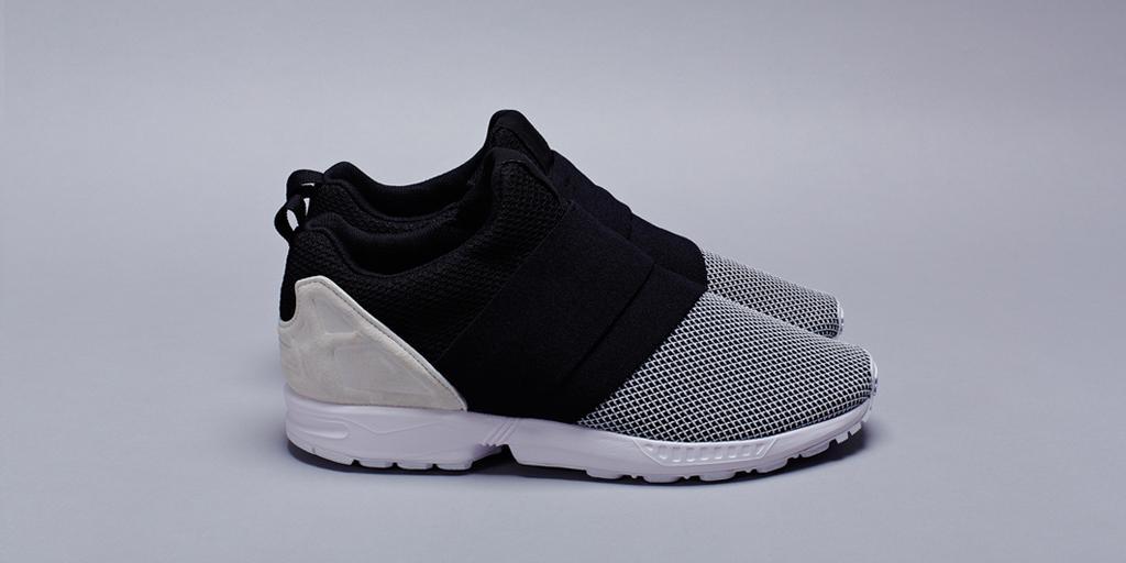 adidas zx flux sin cordones