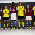 #AVFCKITLAUNCH: First team stars of #AVFC and #AVLFC take to the stage for the big event. #AVFC http://t.co/Szmy8mtM3q