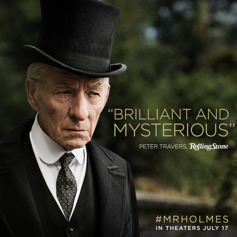 The only way to deduce the accuracy of this statement is to see for yourself on July 17. #MrHolmes http://t.co/MpdbL38gjI