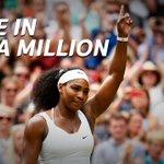 Serena booked a #Wimbledon semi-final spot against Sharapova after a 3-6, 6-2, 6-3 win over Azarenka. #SSTennis http://t.co/YpqcGWW9Qp