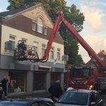 Zwerm #bijen weggehaald in Raadhuisstraat #heemstede Dank @BrandweerKen http://t.co/b2G1k0qbRY