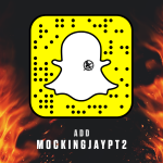 IT'S OFFICIAL! @TheHungerGames is NOW on Snapchat! Follow MOCKINGJAYPT2 for an exclusive from District 13 tomorrow. http://t.co/ZAtoHfYh2p