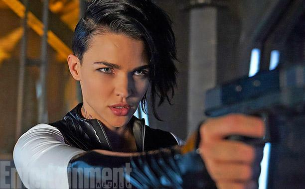 Exclusive: Get a first look at @RubyRose's next gig in @SyFy's DarkMatter: