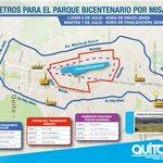 INFORMAMOS: Vías aledañas al Bicentenario totalmente habilitadas. Conduzca despacio!! http://t.co/WMpOBQAUcw
