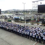 Gracias por su trabajo querid@s voluntari@s. Parque Bicentenario, #Quito Operativo #VisitaPapa2015 http://t.co/fySJAJ75mG